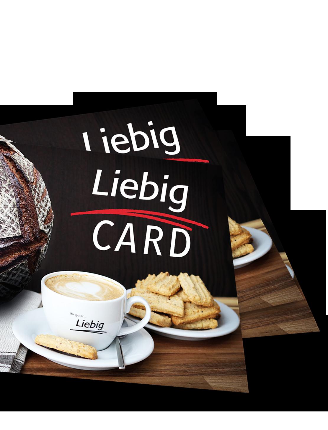 Liebig CARD - die Kundenkarte der Bäckerei Ihr guter Liebig aus Pfungstadt